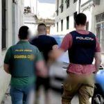 Guardia Civil y Policía Nacional desarticulan un grupo de fisioculturistas dedicados al cobro de deudas con violencia